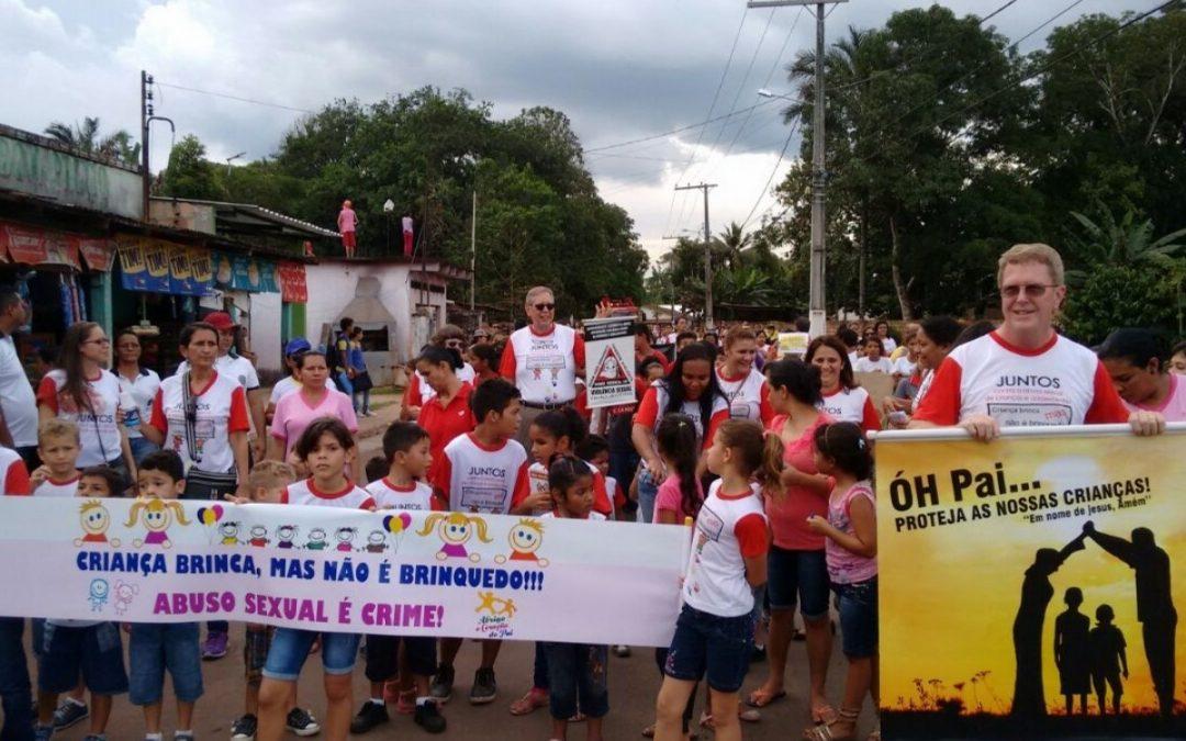 RENAS mobiliza Manaus contra o abuso e exploração sexual infantojuvenil