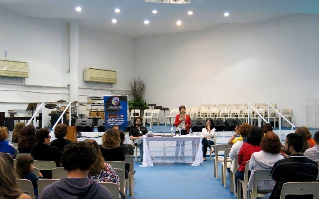 Bola na Rede realizou fórum no Rio e discutiu exploração sexual de crianças